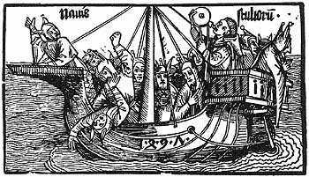 El Barco de los Locos. Durero