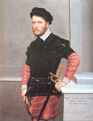 Giovanni Battista Moroni. Don Gabriel de la Cueva