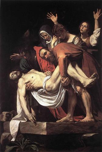 La Deposición de Cristo. Caravaggio